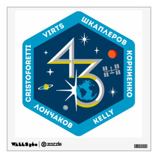 ISS Crews:  Expedition 43 Wall Sticker