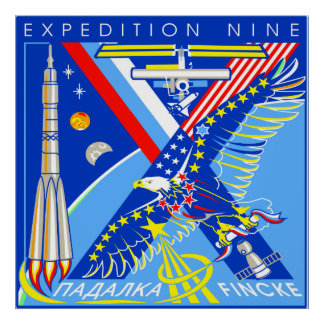 ISS Crews:  Expedition 9 Print