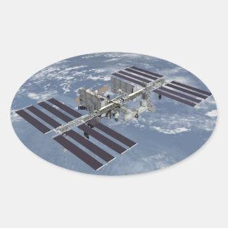 """ISS International Space Station"" Sticker Set"