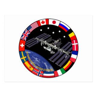 ISS Members Composite Logo Postcard