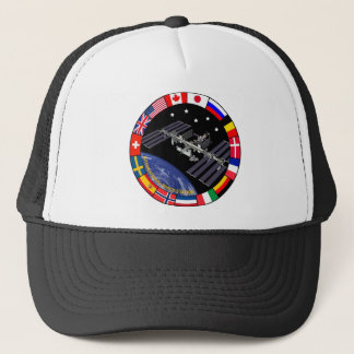 ISS Members Composite Logo Trucker Hat