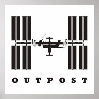 ISS/puesto avanzado Posters