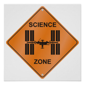 ISS/zona de la ciencia Posters