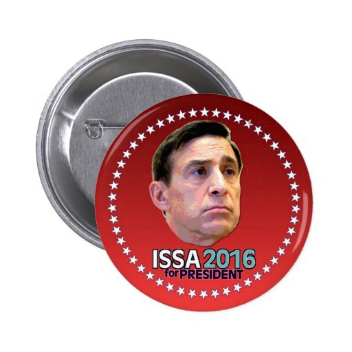 ISSA de Darrell para el presidente 2016 Pin