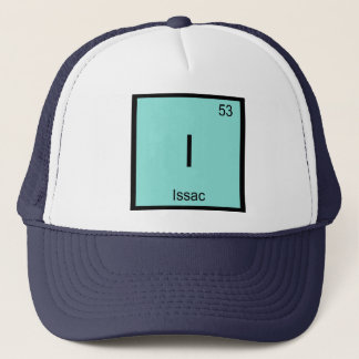 Issac  Name Chemistry Element Periodic Table Trucker Hat