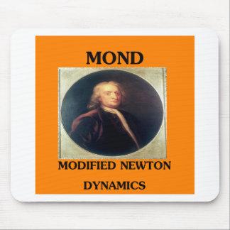 issac newton: modified newtonian dynamics mouse pad