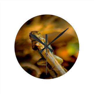 Issy The Lizard Wall Clock