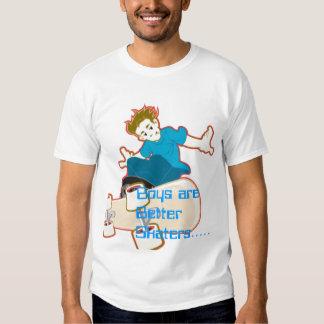 ist2_2223953-skate-boy, Boys are Better Skaters... T Shirt