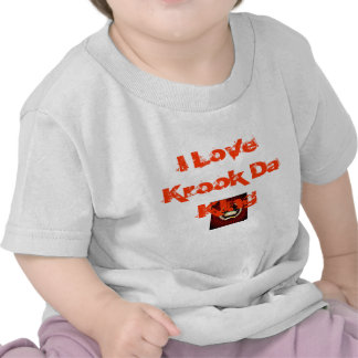 ist2_3825876_crown, I Love Krook Da KIng Tshirt