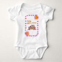 Ist anniversary baby bodysuit