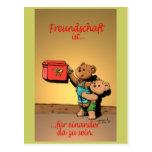 Ist de Freundschaft… Postal