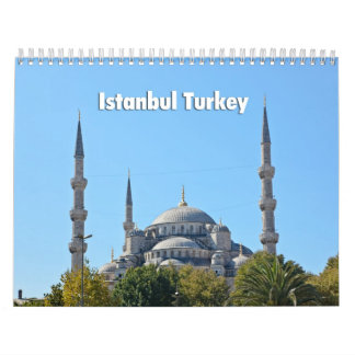 Istanbul 2013 calendar