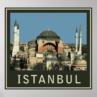Istanbul Agia Sophia Posters