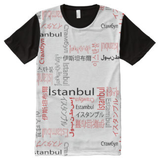 Istanbul All-Over-Print T-Shirt