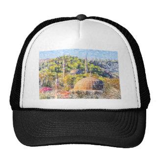 Istanbul Blue Mosque in Turkey Trucker Hat