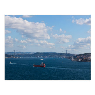 Istanbul Bosporus Postcard