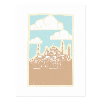Istanbul Day Postcard