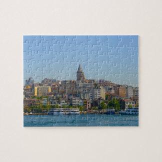 Istanbul - Galata Tower Jigsaw Puzzle