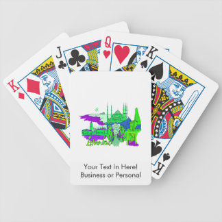 istanbul green 2 city image.png bicycle playing cards