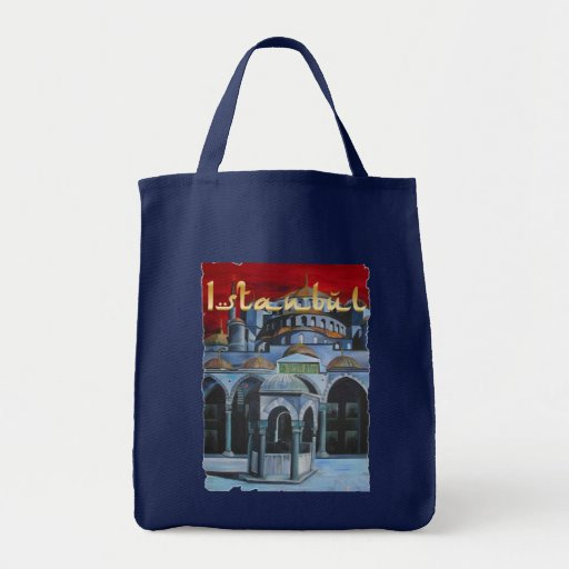 Istanbul Grocery Tote Bag