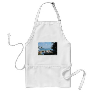 Istanbul Harbor Adult Apron
