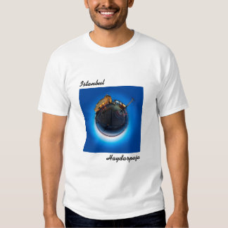 İstanbul Haydarpaşa Little Planet T-shirt