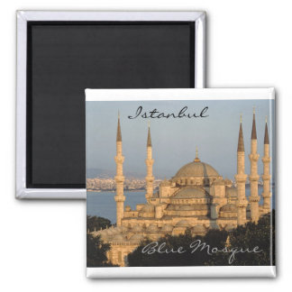 Istanbul 2 Inch Square Magnet