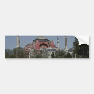 Istanbul Monuments Car Bumper Sticker