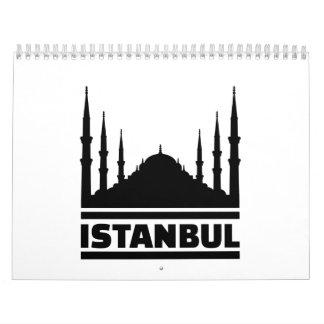 Istanbul Mosque Calendar