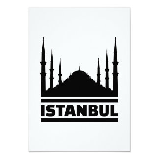 Istanbul Mosque Card