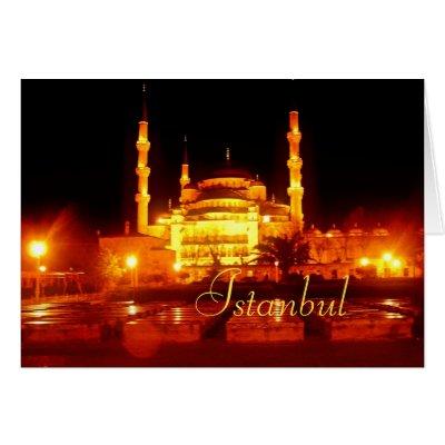 Istanbul Nights Card card