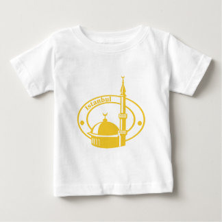Istanbul Stamp Baby T-Shirt