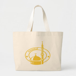 Istanbul Stamp Canvas Bags