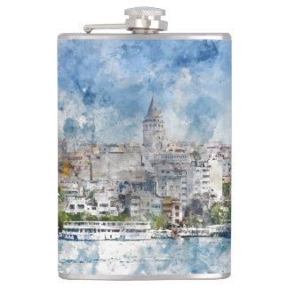 Istanbul Turkey Flask