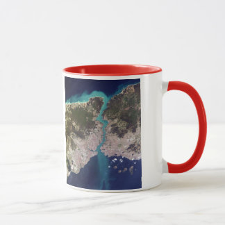 Istanbul* Turkey From Space Mug
