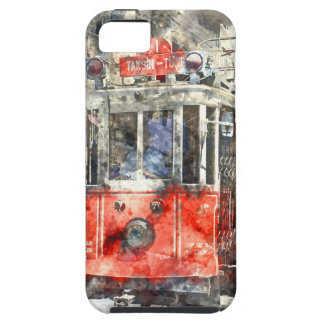 Istanbul Turkey Red Trolley iPhone SE/5/5s Case