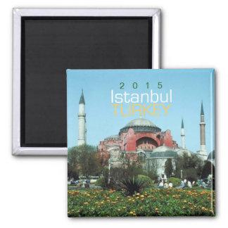 Istanbul Turkey Travel Souvenir Magnet Change Year