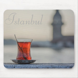 Istanbul - Turkish Tea Glass Photography Mouse Pad