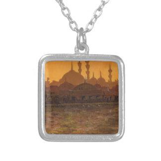 İstanbul Türkiye / Turkey Silver Plated Necklace