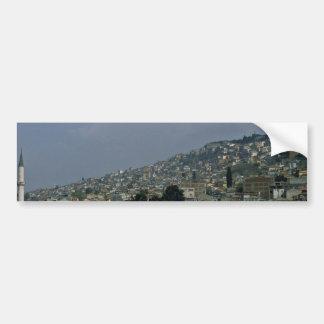 Istanbul View Car Bumper Sticker