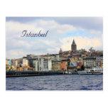 Istanbul View Postcard