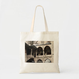 Istanbul's Blue Mosque Canvas Bags