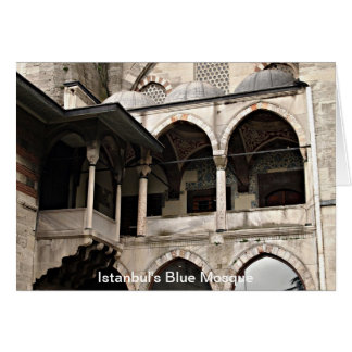 Istanbul's Blue Mosque Greeting Card