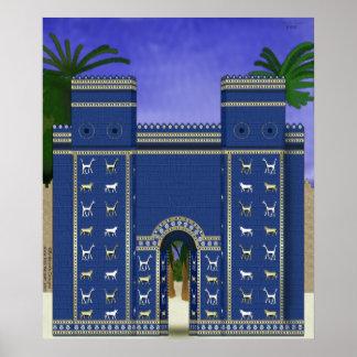 Istar Gate Print