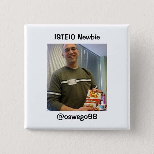 ISTE10 Newbie Supporter Pinback Button