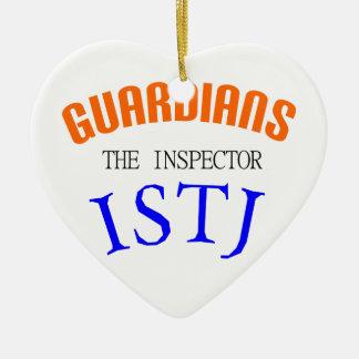 ISTJ Guardian Personality Ceramic Ornament