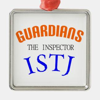 ISTJ Guardian Personality Metal Ornament