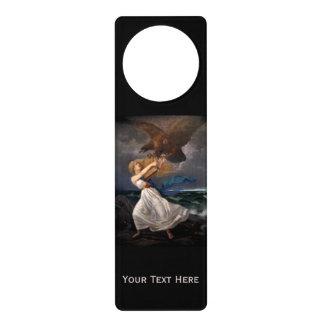 """Isto's """"The Attack"""" custom door hanger"""