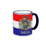 Istria Coat of Arms Ringer Coffee Mug