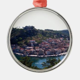 Istria, Croatia Metal Ornament